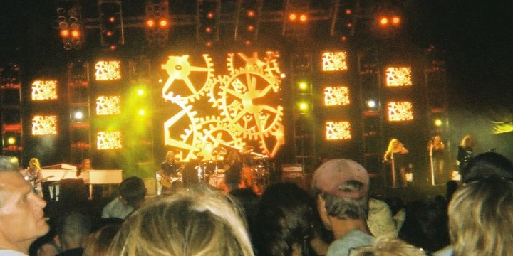 Image of Lynyrd Skynyrd rocking out at the Big State Festival in College Station, TX October 13, 2007.